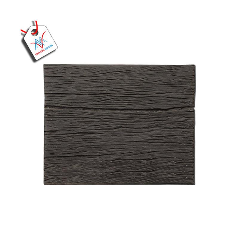 Bê tông giả gỗ - B11 (30x25x4cm) màu Đen