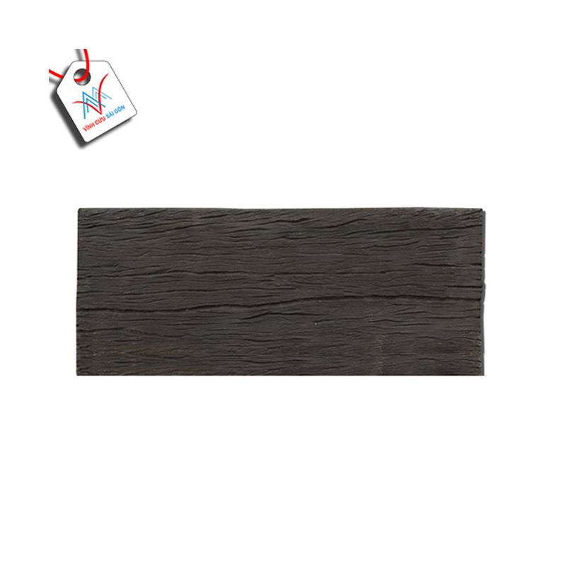 Bê tông giả gỗ - B12 (60x25x4cm) màu Đen