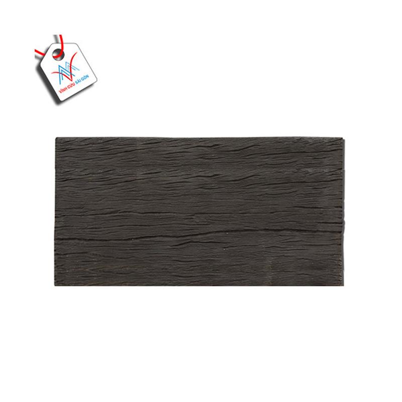 Bê tông giả gỗ - B12 (60x30x4cm) màu Đen
