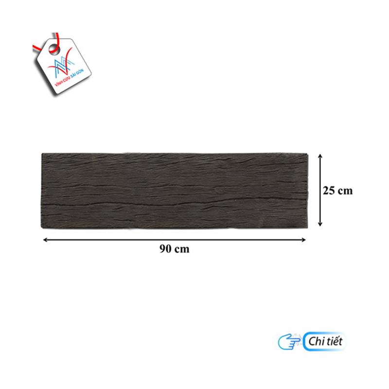 Giả gỗ B13 (90x25x4cm) đen