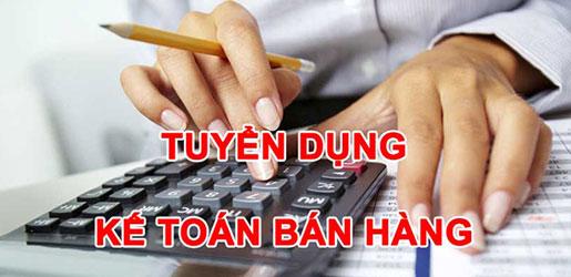 Tuyển dụng kế toán bán hàng