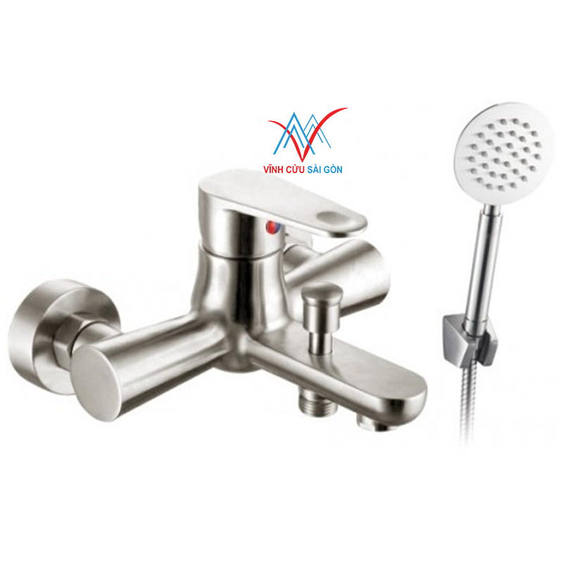 Sen vòi nóng lạnh INOX 304 F-2001