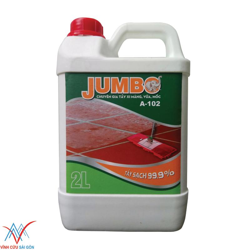 Nước tẩy xi măng Jumbo A-102