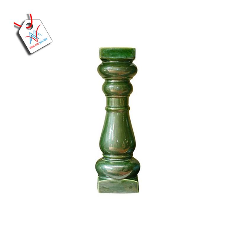 Lục bình sứ VCSG-THC 405 màu xanh đồng