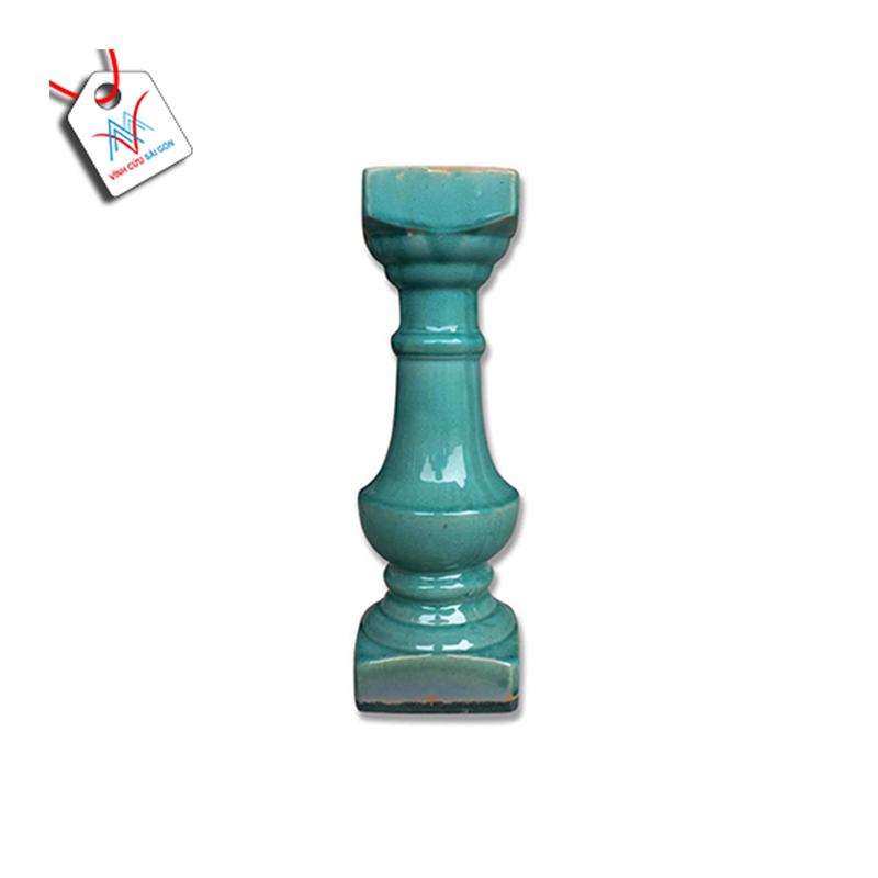 Lục bình sứ VCSG-THC 402 màu xanh ngọc