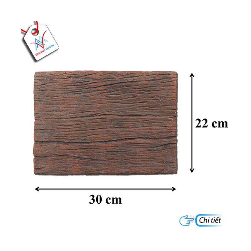 Giả gỗ B11 (30x22x4cm) đen nâu