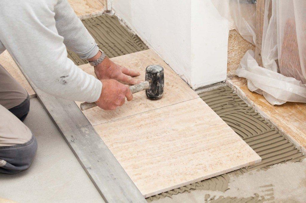 Nguyên nhân và cách khắc phục nền gạch bông bị phồng rộp