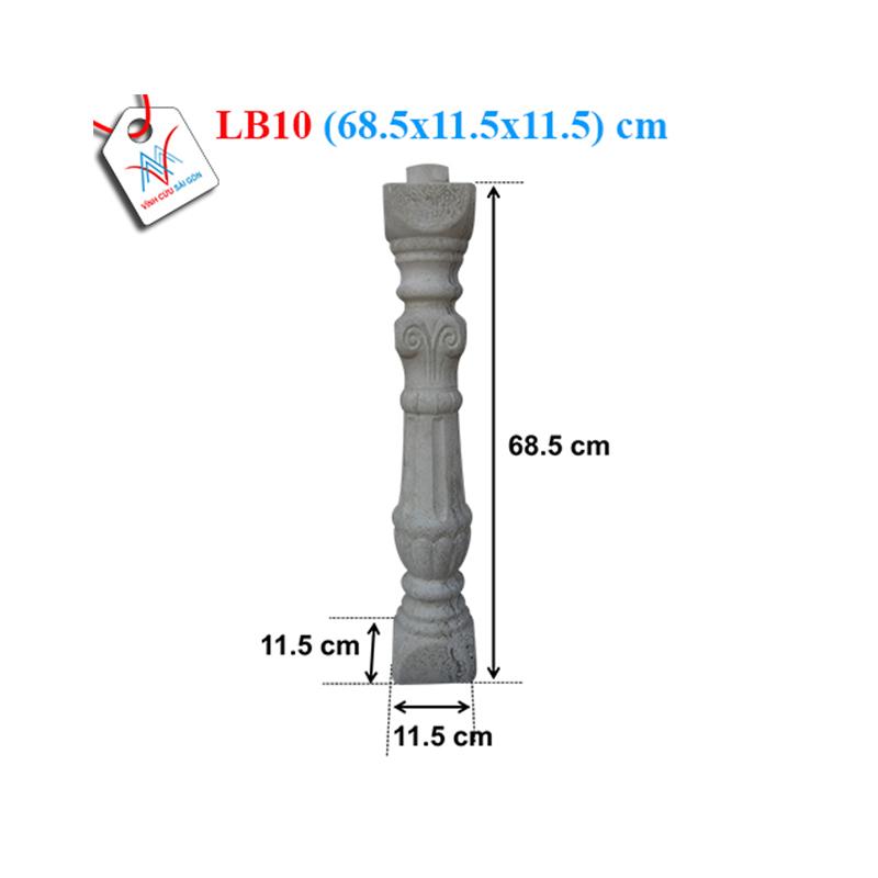 Lục bình bạch tuộc 70 - LB10 (68,5x11,5x11,5 cm)