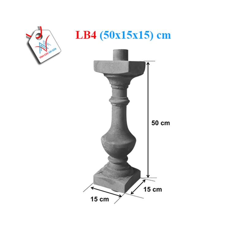 Lục bình bát 50 - LB4 (50x15x15 cm)