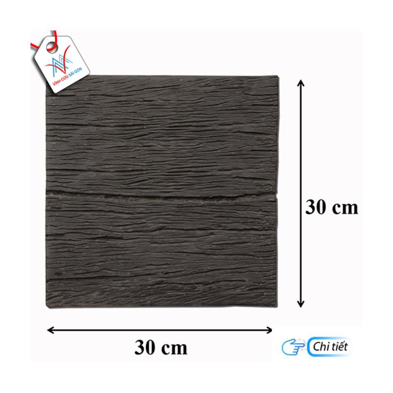 Giả gỗ B11 (30x30x4cm) đen